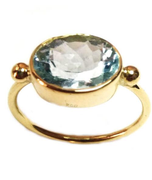 Aqua-marine Ring