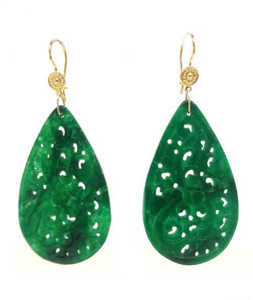 greenjade earing