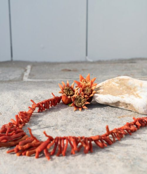 coral necklace2